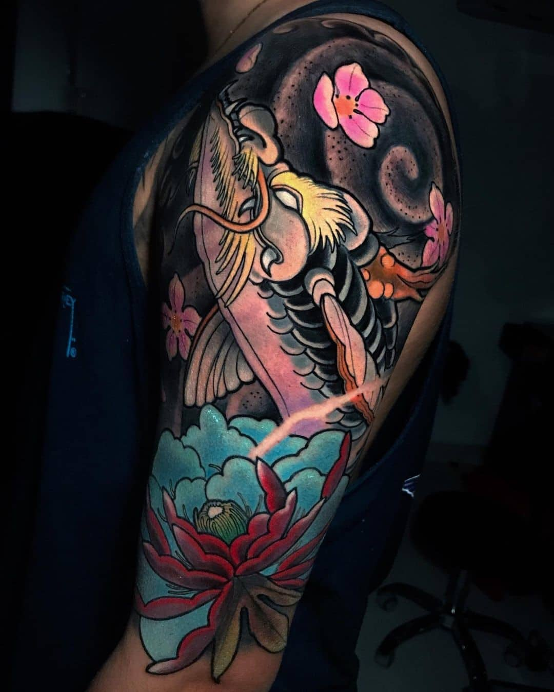Dragon Koi Fish Tattoo Ideas 2