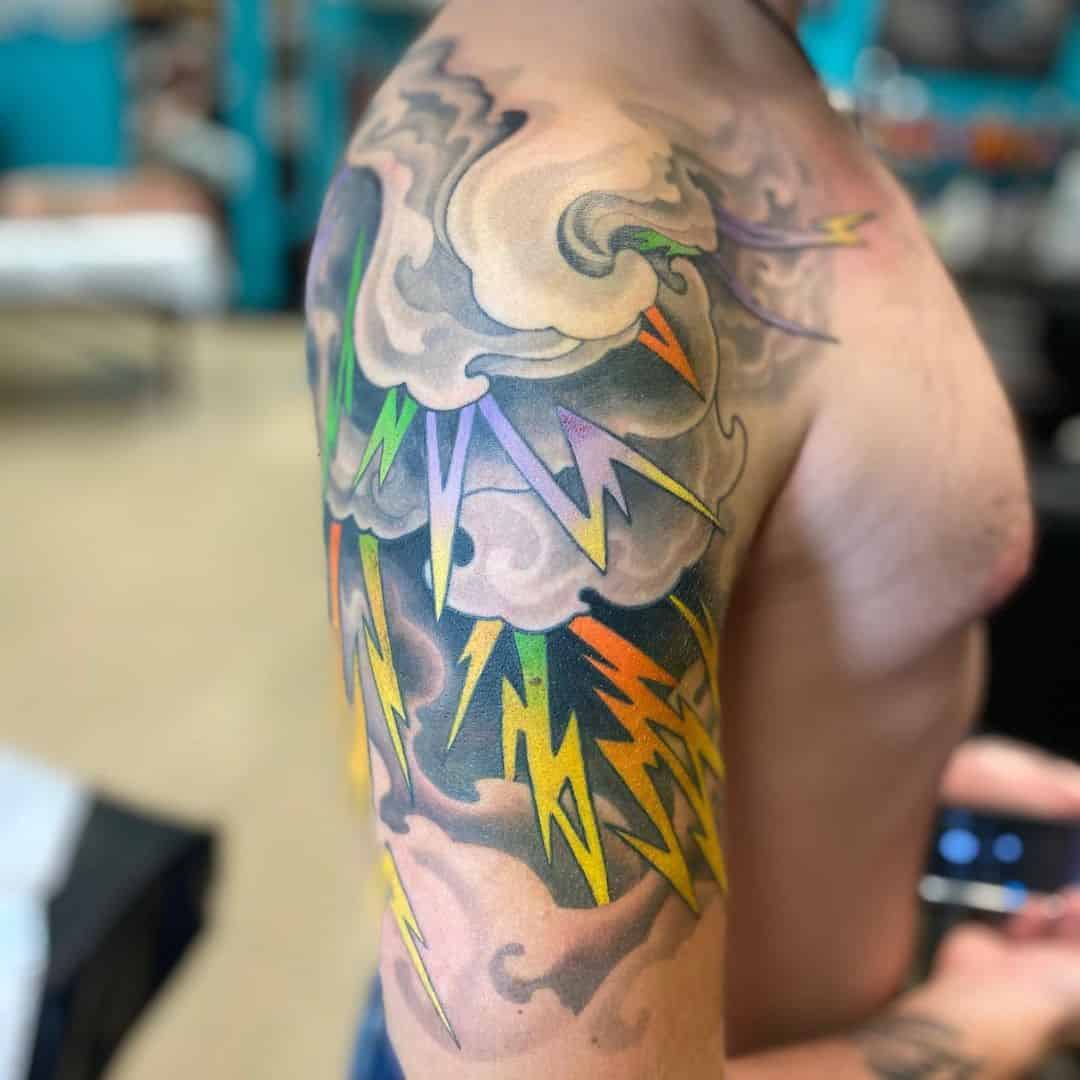 Other Bright Colored Half Sleeve Tattoo 4