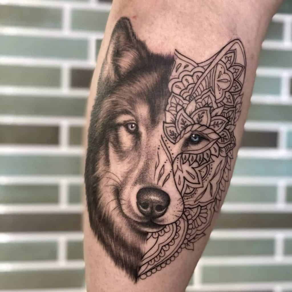 Animal Tattoo Design (Eagle, Wolf, Lion Design) That Shows Strength (3)