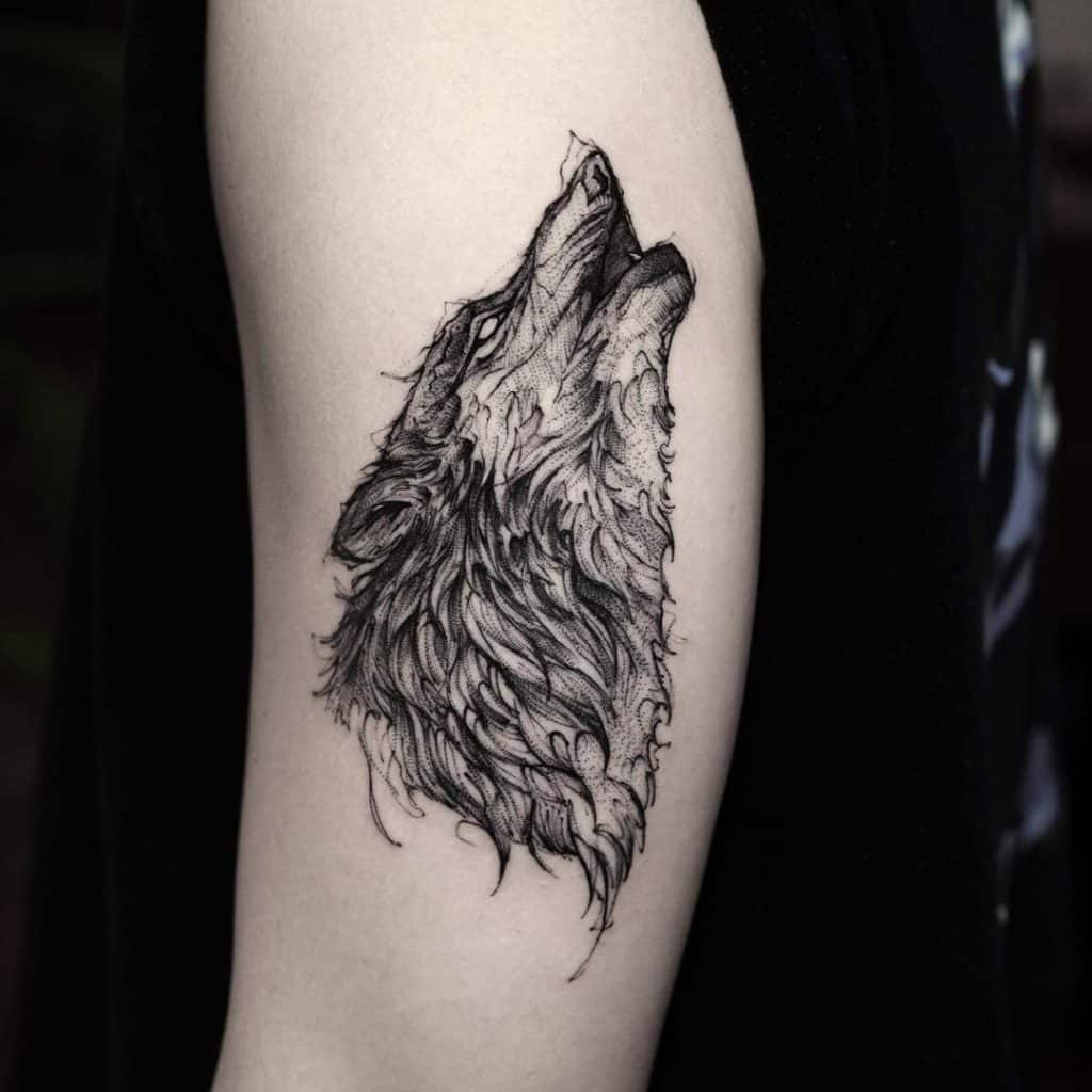 Animal Tattoo Design (Eagle, Wolf, Lion Design) That Shows Strength (4)