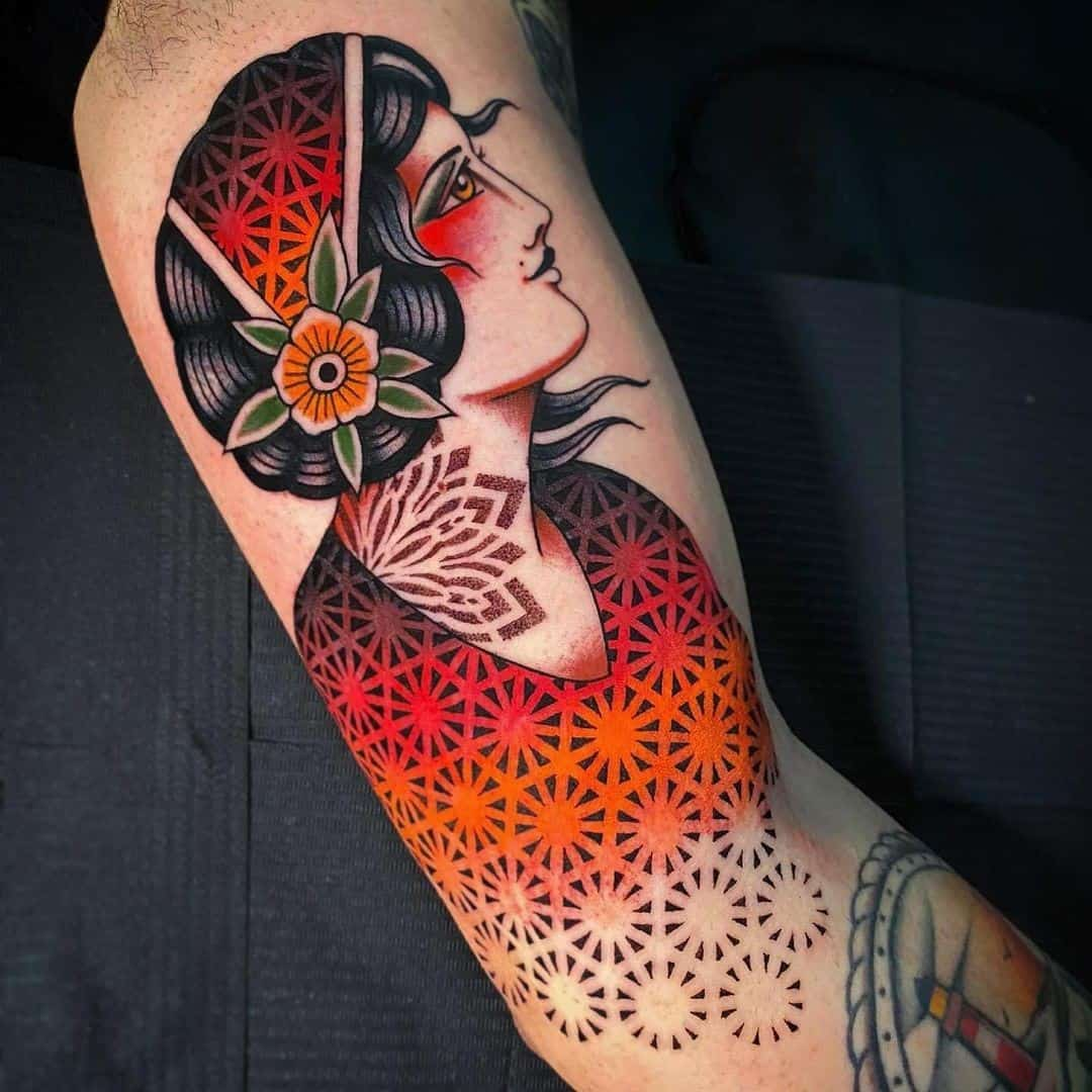 Sleeve half tattoo a getting What is