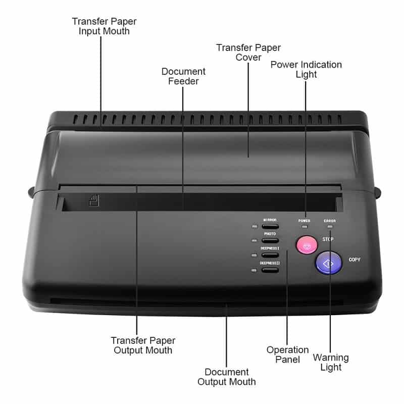 Best Tattoo Stencil Printer, saved tattoo, ATOMUS