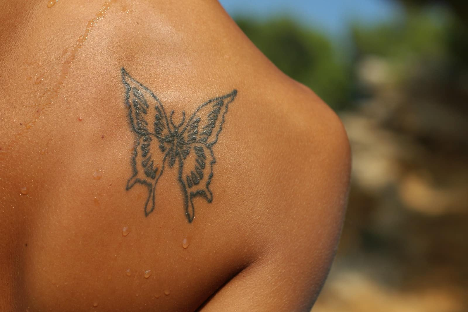 Butterfly Tattoo, saved tattoo