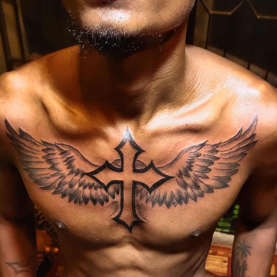 Cross Tattoos, saved tattoo, 15