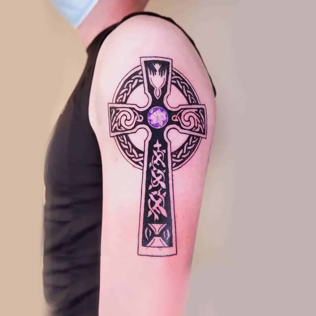 Cross Tattoos, saved tattoo, 28