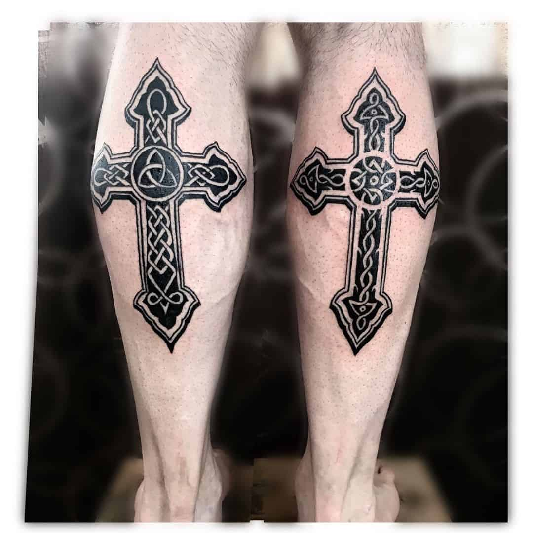 Cross Tattoos, saved tattoo, 29