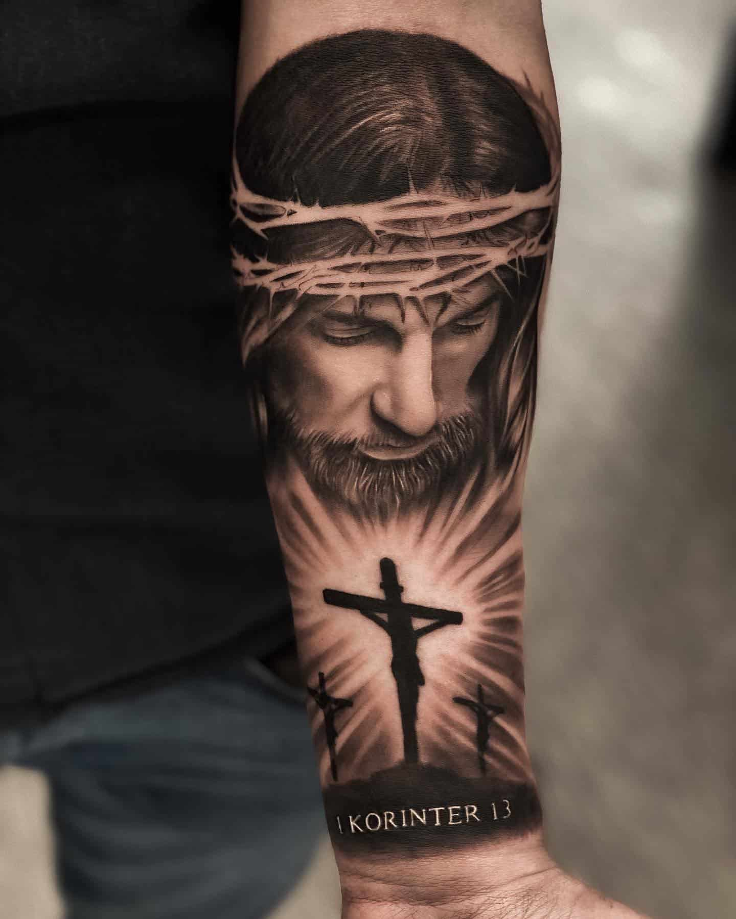 Cross Tattoos, saved tattoo, 6