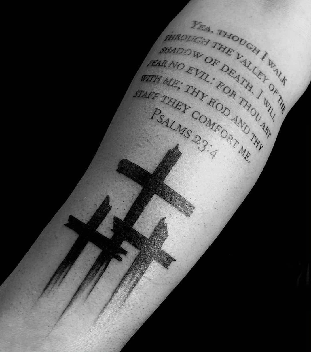 Cross Tattoos, saved tattoo, 8