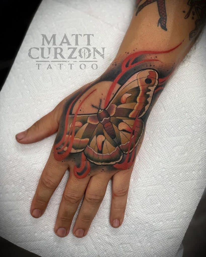 Hands And Fingers Tattoo