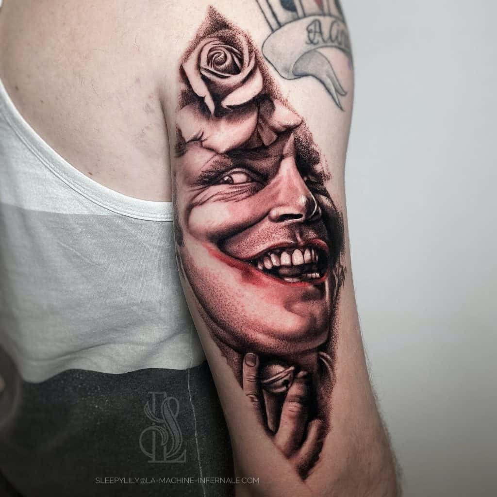 Two faced tattoo meaning