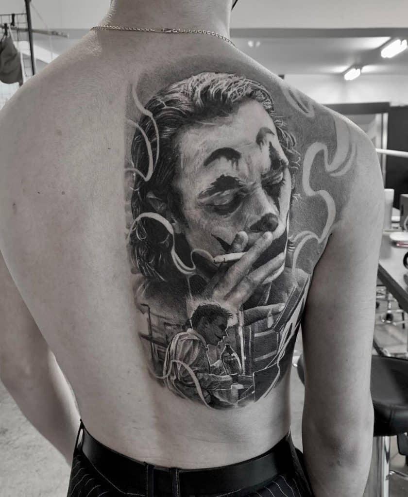 Tattoo 2 faces Tattoos