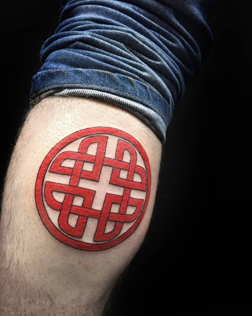 Protection Tattoo Ideas, saved tattoo, Shield Knot