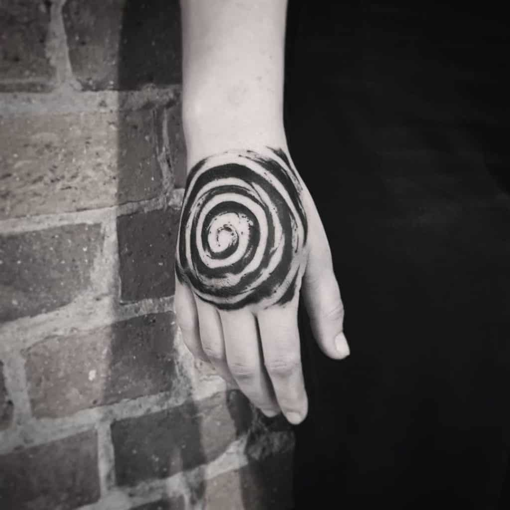 Protection Tattoo Ideas, saved tattoo, Single Spiral
