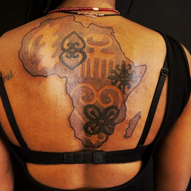 Protection Tattoo Ideas, saved tattoo, Western Africa