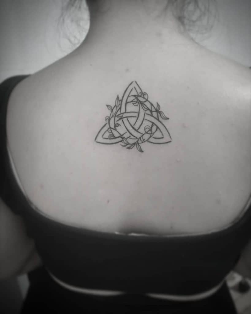 Protection Tattoo Ideas, saved tattoo, triquetra