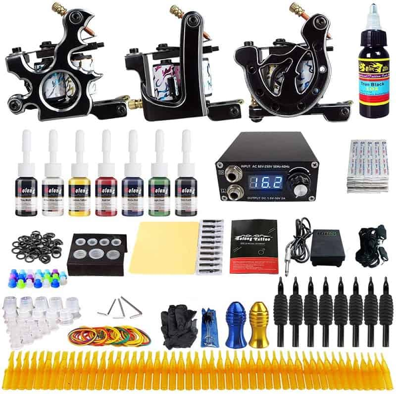 Solong Complete Tattoo Kit 3