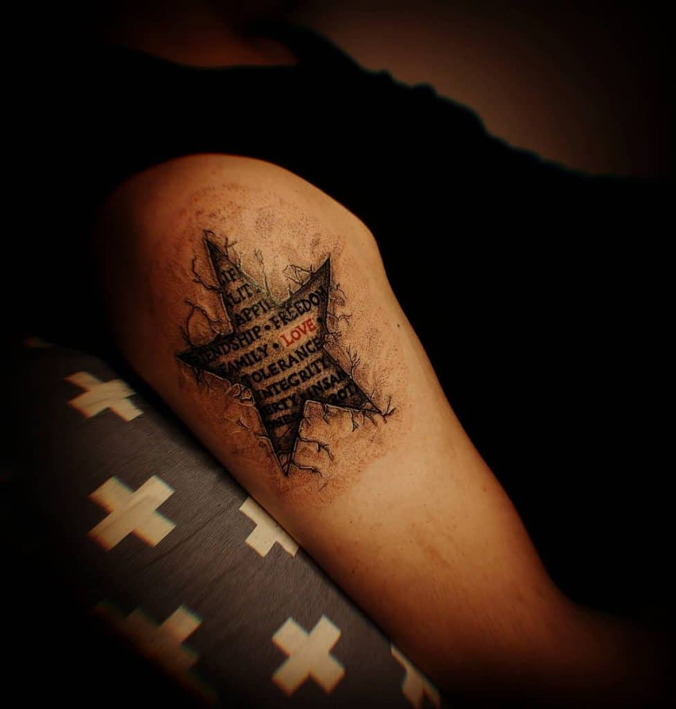 Star Tattoos, saved tattoo, 10