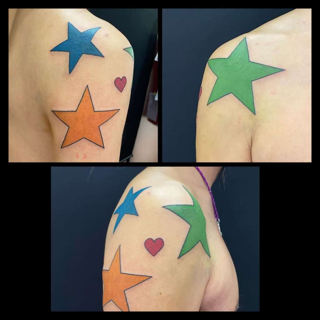 Star Tattoos, saved tattoo, 20