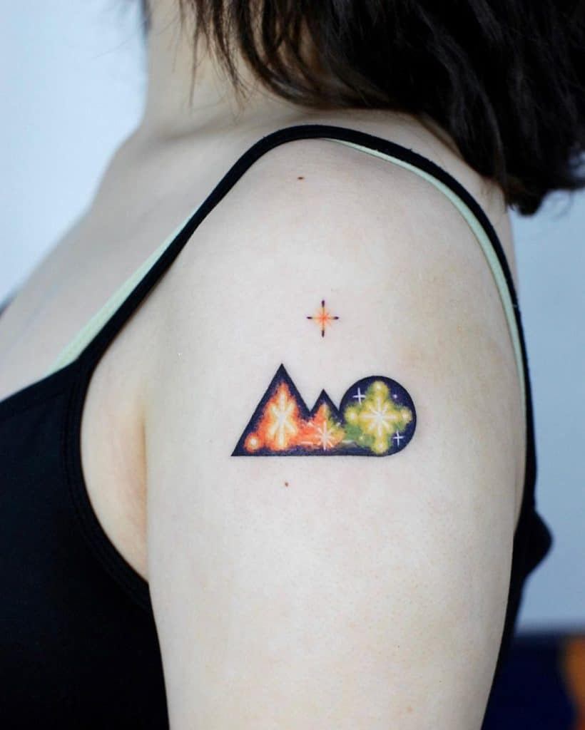 Star Tattoos, saved tattoo, 32