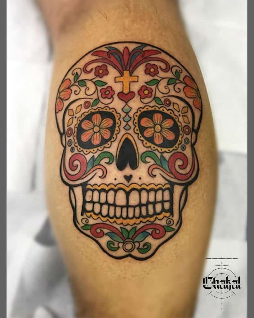 Sugar Skull Tattoos, saved tattoo, 1