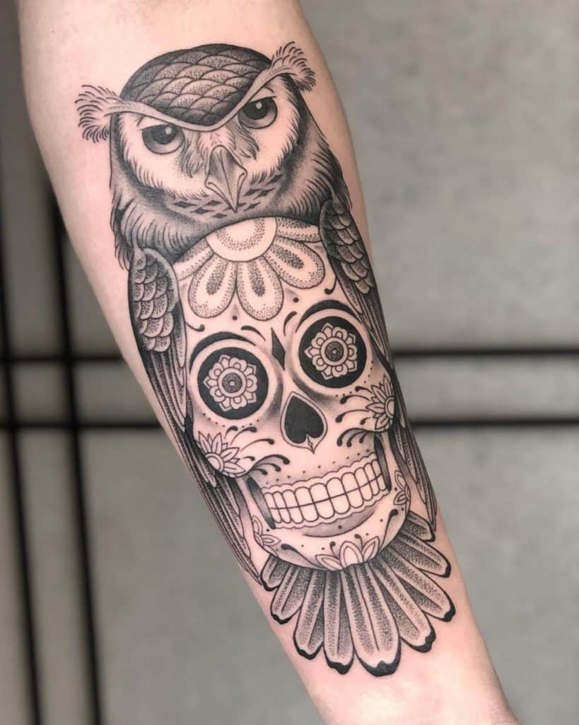Sugar Skull Tattoos, saved tattoo, 16