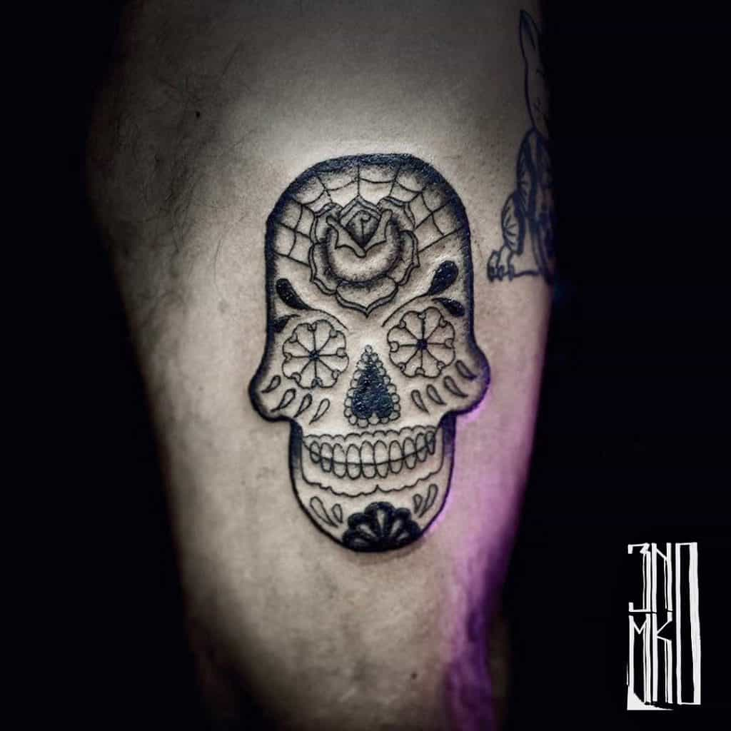 Sugar Skull Tattoos, saved tattoo, 17