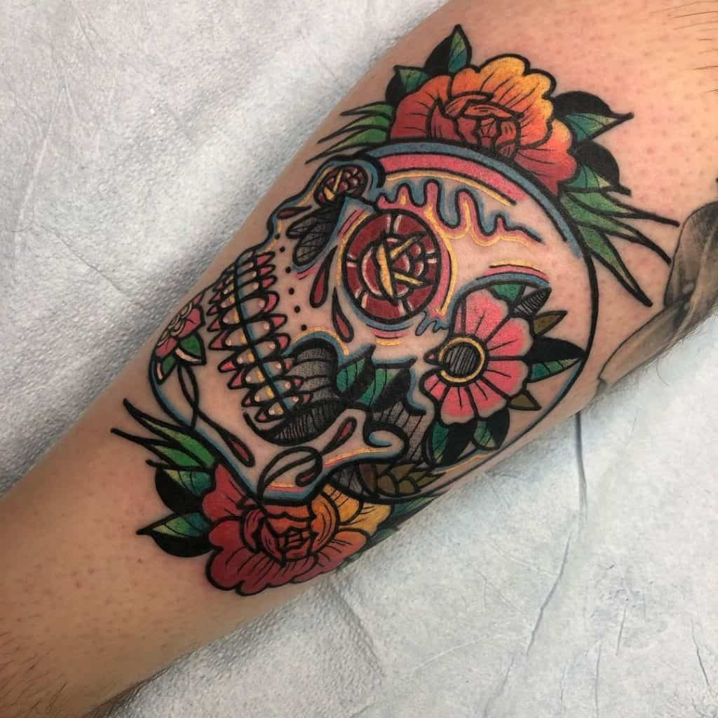 Sugar Skull Tattoos, saved tattoo, 2
