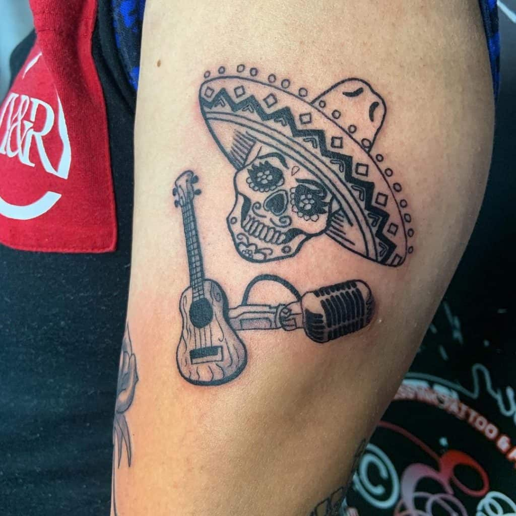 Sugar Skull Tattoos, saved tattoo, 22