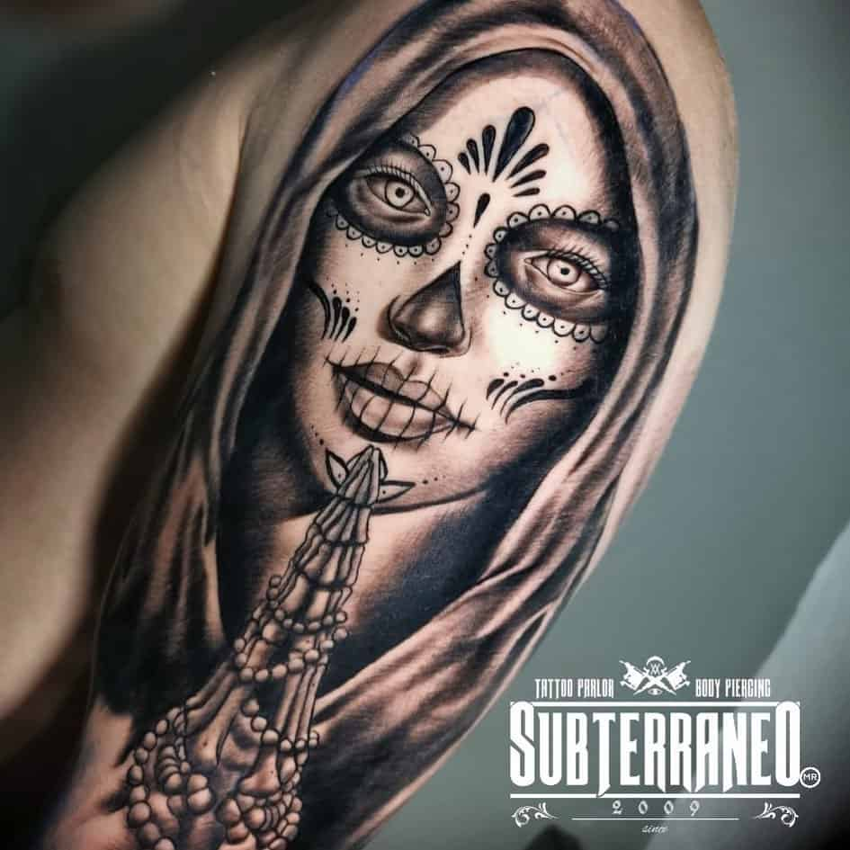 Sugar Skull Tattoos, saved tattoo, 5