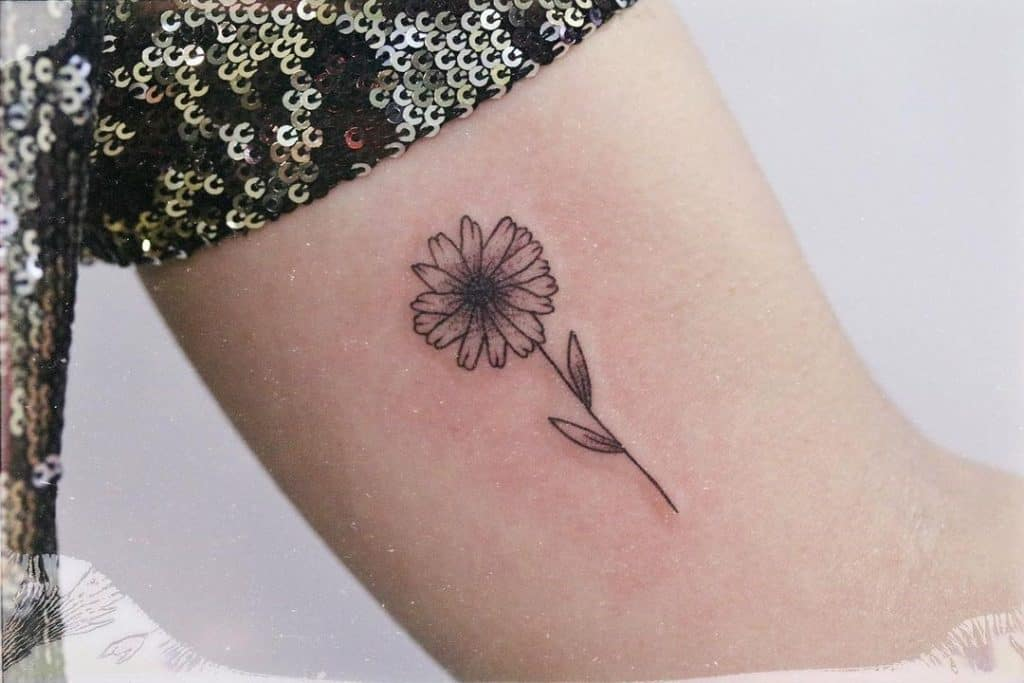 you want to get a sunflower tattoo