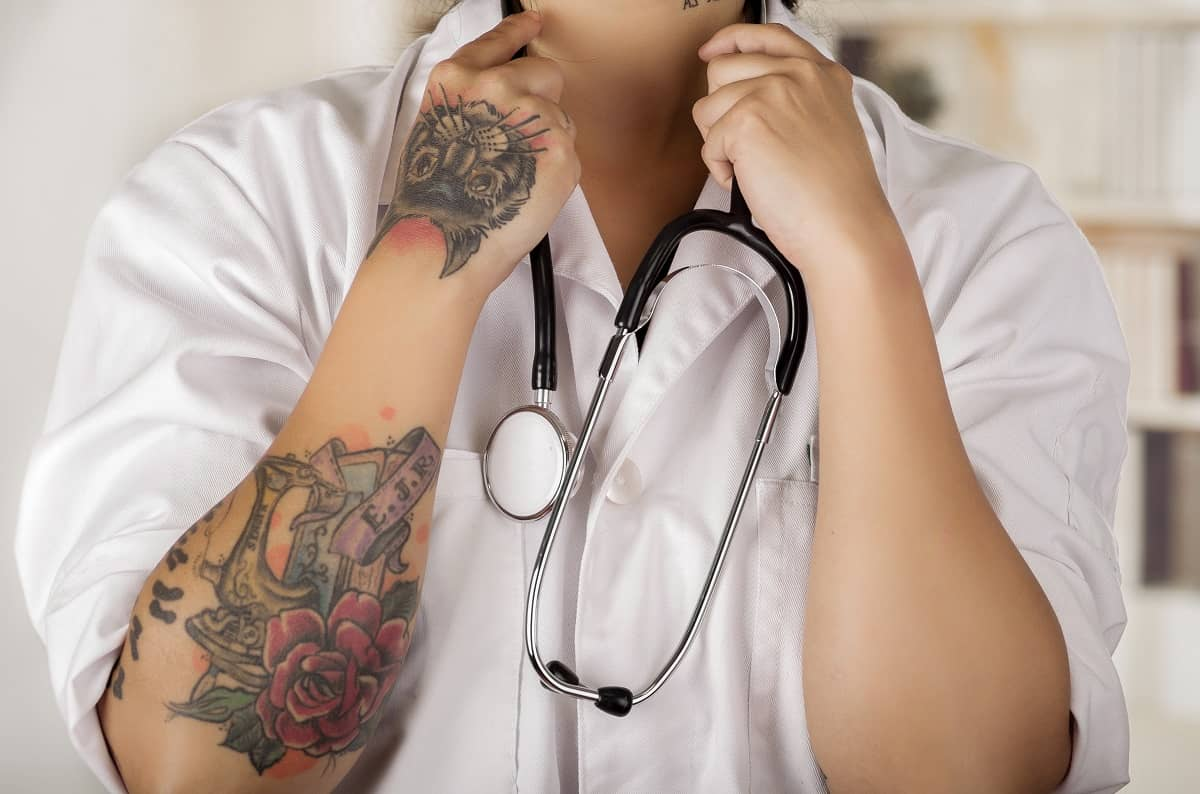 Can Doctors Have Tattoos