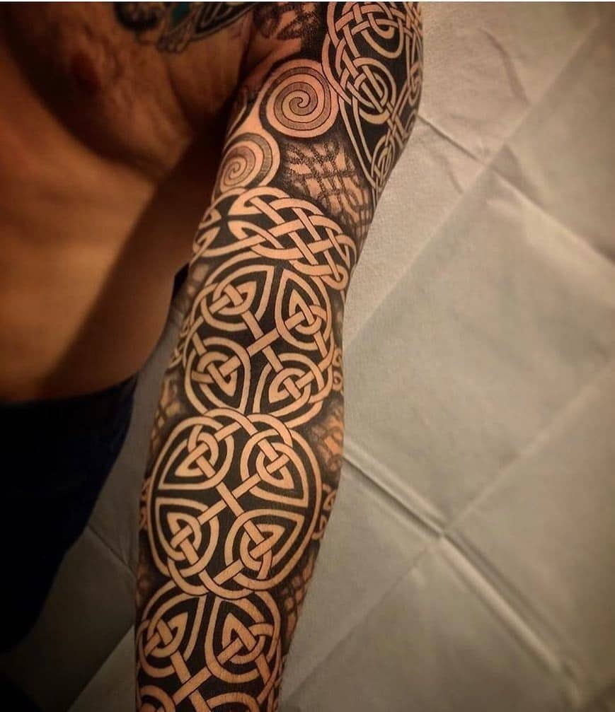 Celtic Sleeve Tattoo 2