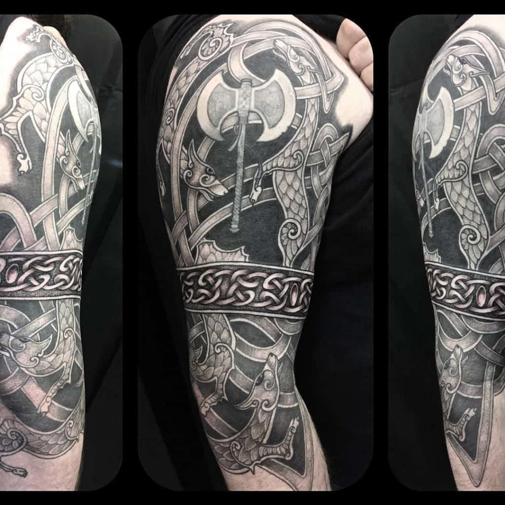 Celtic Sleeve Tattoo 3