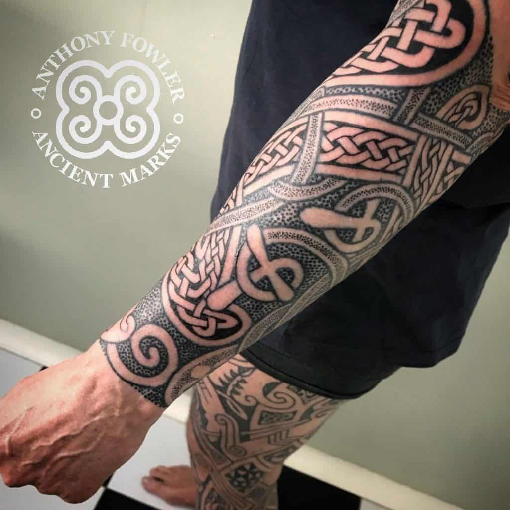 Celtic Sleeve Tattoo 4