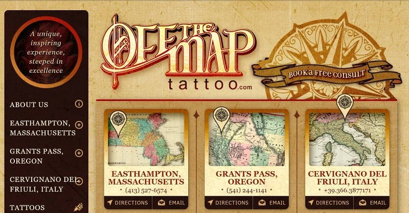 OffTheMapTattoo.com archive