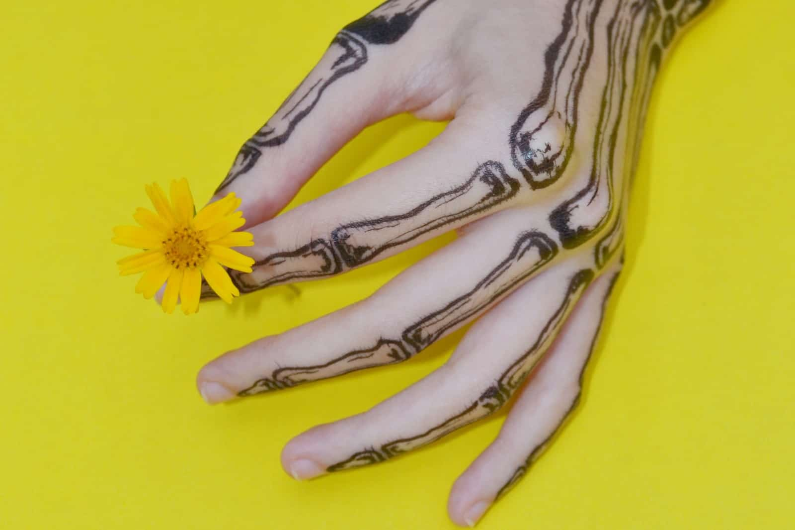 Skeleton Hand Tattoo, saved tattoo