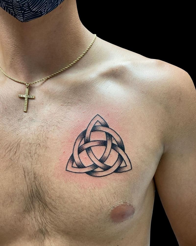 Trinity Knot Tattoo Men