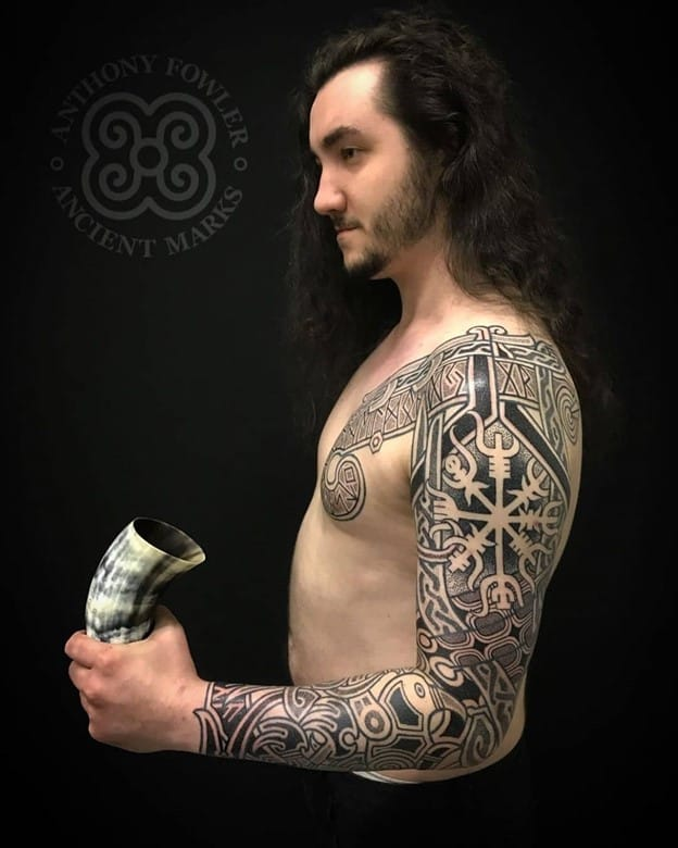 Black Ink Sleeve