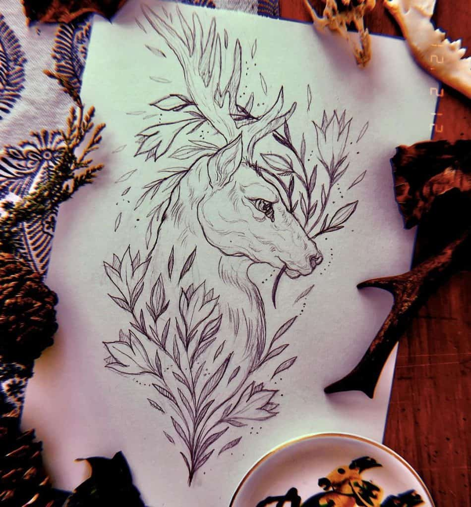Deer Tattoos design ideas