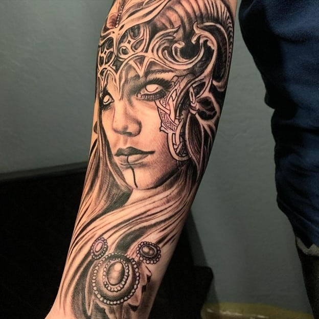 Female Viking Sleeve