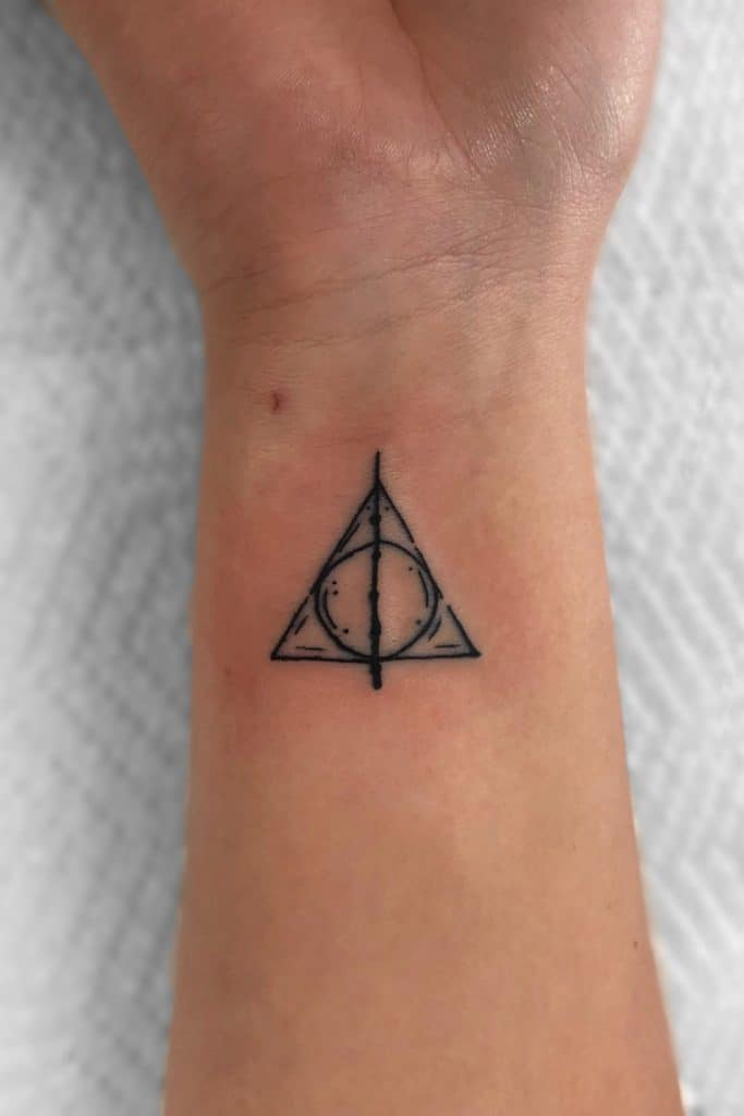 Harry Potter Inspired Small Tattoos For Men With Meaning