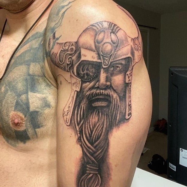 Odin Tattoo Sleeve