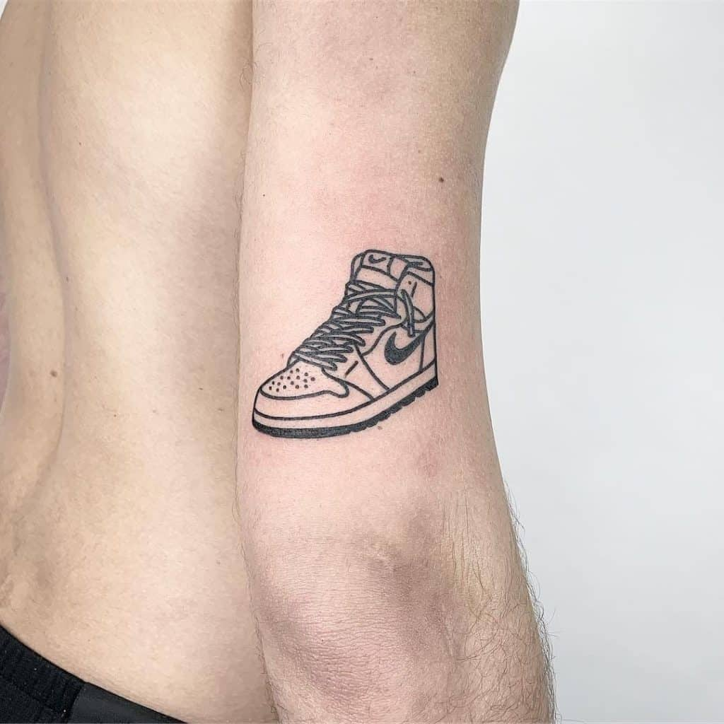 Tattoo Designs For Male Hand Nike Inspired