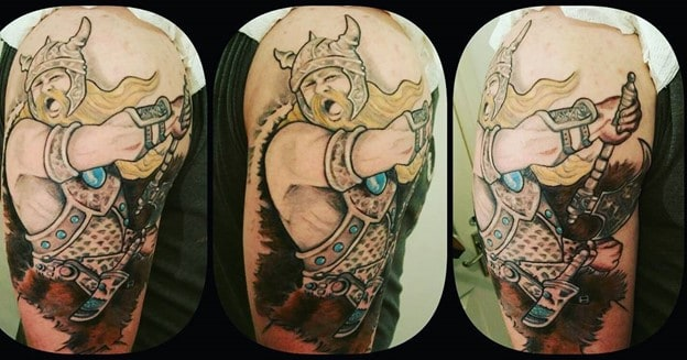 Viking Warrior Sleeve for big arm