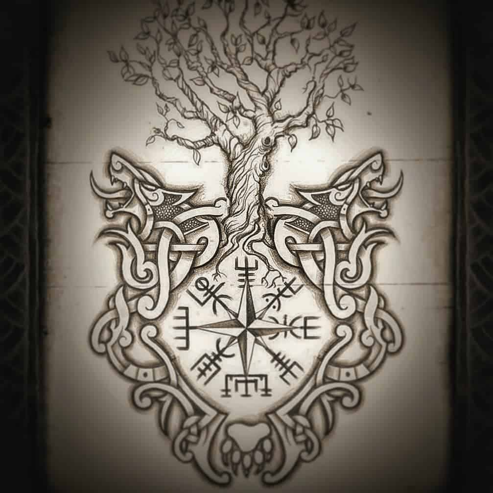 Yggdrasil Tattoo