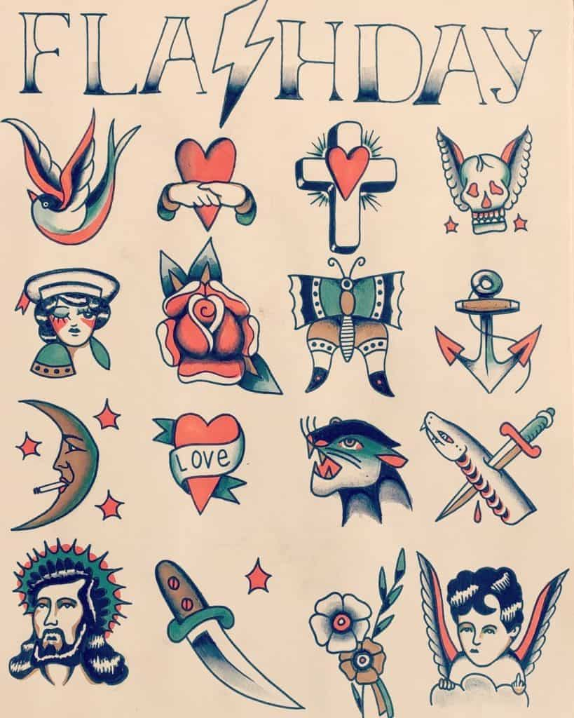 American Traditional Tattoo History
