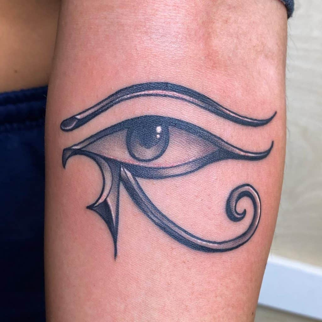 Eye of Horus Tattoo 2