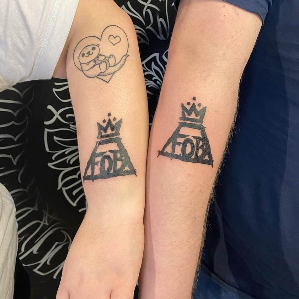 FOB and Crown Tattoo