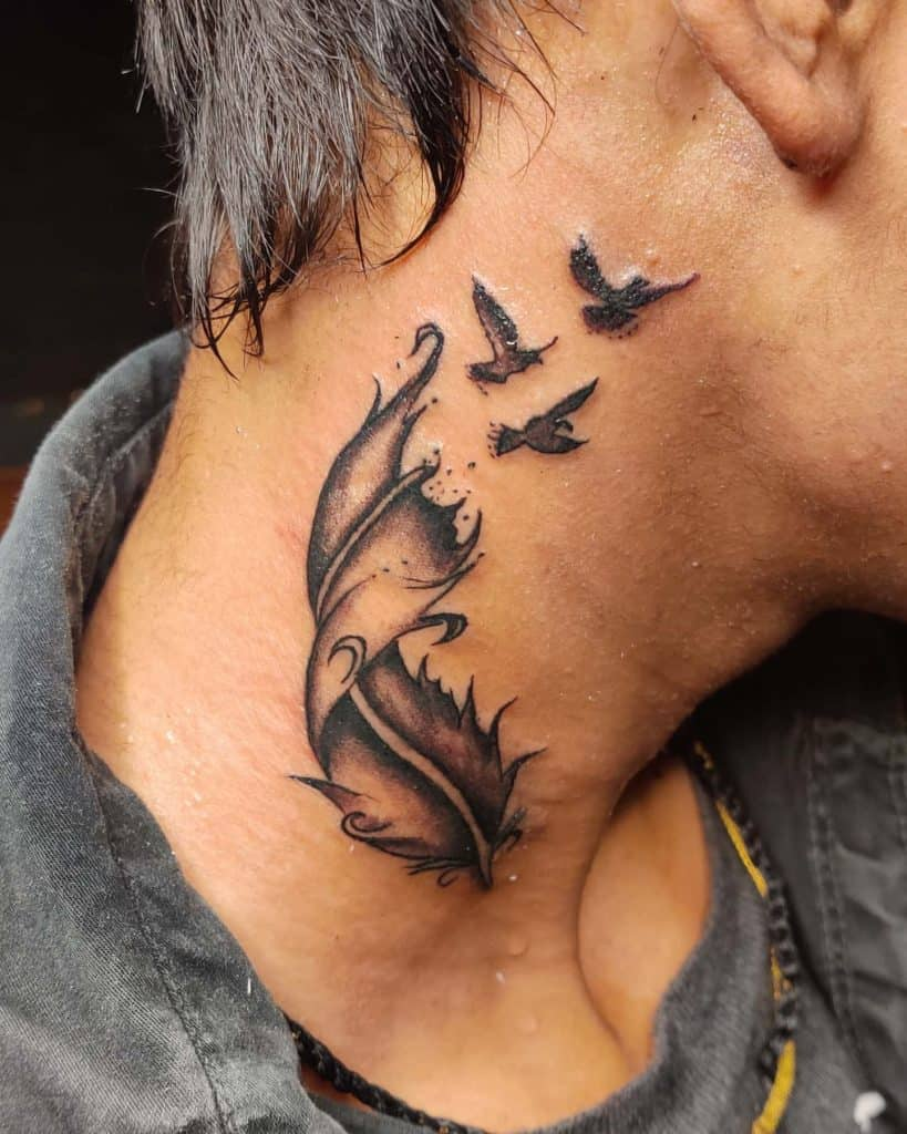 Flying Bird Tattoo 1