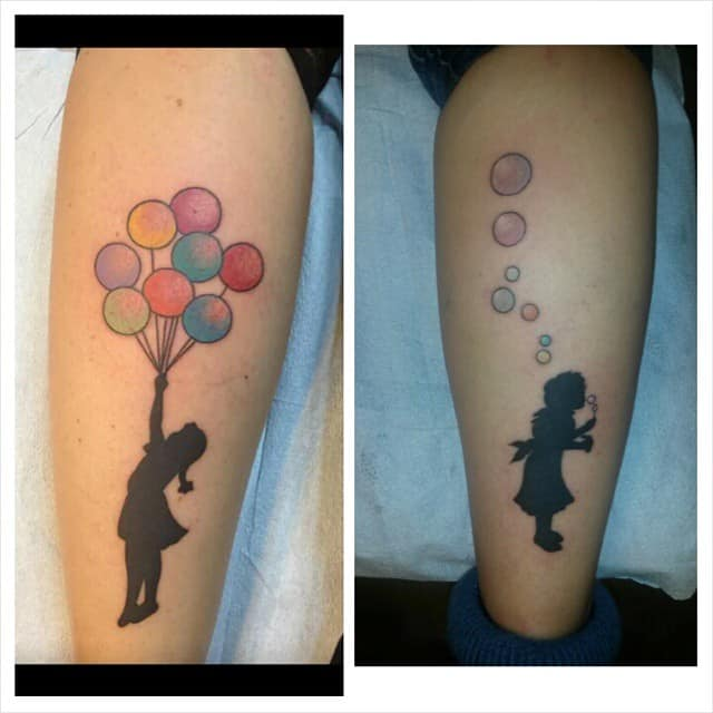 Freedom Bubble Tattoo 3